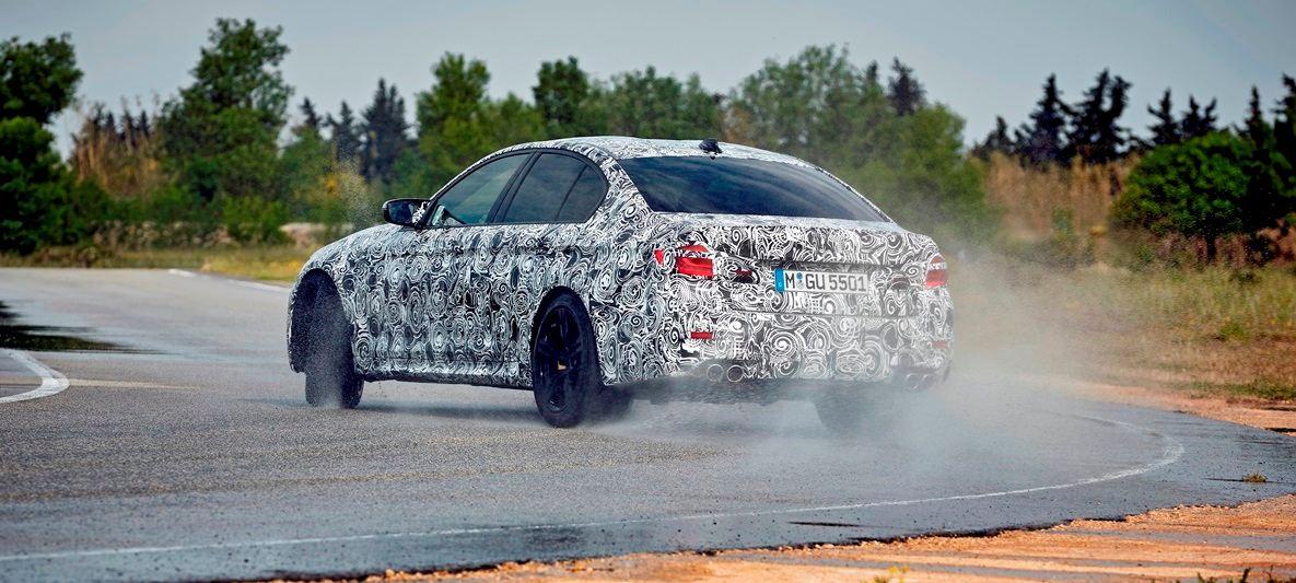 Novi BMW M5 sa M xDrive progonom